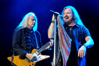 Rickey Medlocke (L) and Johnny Van Zant