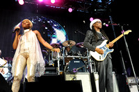 Kimberly Davis (L) and Nile Rodgers