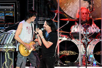 Tom Scholz (L), Tommy DeCarlo (C) and Jeff Neal (R)